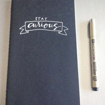 Handwritten Moleskine Notebook