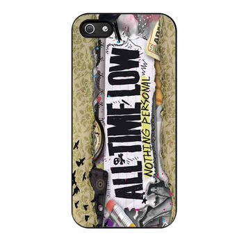 All Time Low Nothing Personal Album Cover iPhone 5s Case