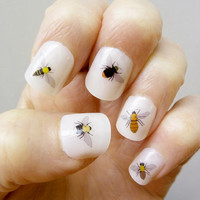 bee nail stickers