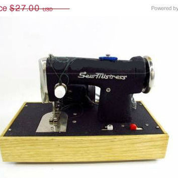 20% OFF SUMMER SALE Toy Sewing Machine Children Sewing Machine