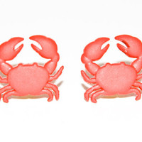 Crab Earrings 10% of this sale will go to Sea Shepherd Conservation Society
