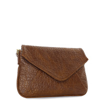 Stella Clutch - Brown