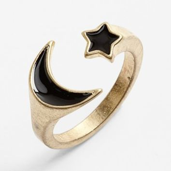 Carole Moon & Star Wrap Ring | Nordstrom