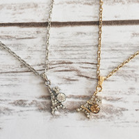 Eiffle Tower Dainty Necklace