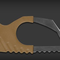Strap Cutter - Coyote Brown