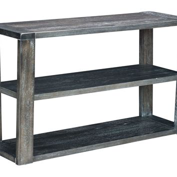 Skyline Console Table Distressed Gray