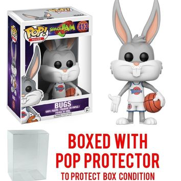 Funko Pop Movies Space Jam Bugs 413 12428 W/Protect case