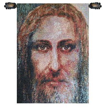 Face of Christ Tapestry Wall Hanging