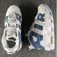 Louis vuitton x Supreme x Nike Air More Uptempo Fashion and leisure sports shoes