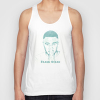 Frank Ocean Unisex Tank Top by TwO Owls