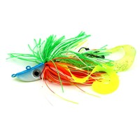 2016 New jumping Jig head Fishing lure with hook Sequins Metal Lure Sea Fishing Bait Jig Lure Peche 20g 40g