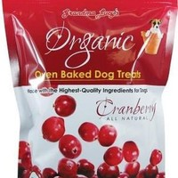 Grandma Lucy's Organic Cranberry Baked Dog Treats 14oz