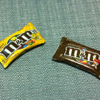 2 Chocolate Pack Packet Miniature Rubber Food Supply Sweet Candy Cute Tiny M&M's Plastic Packs Packets Dollhouse Jewelry Beads Supplies