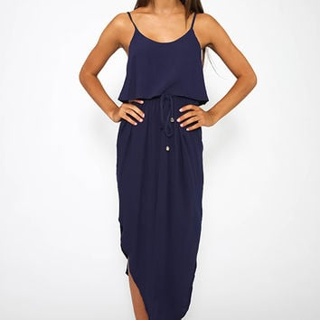 Rother Dress - Navy