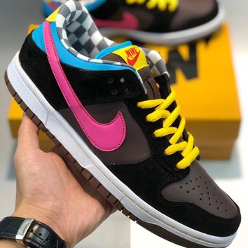 NIKE DUNK SB LOW PRO 720 DEGREES Men's and women's nike shoes