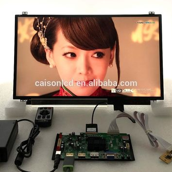 2HDMI+VGA+DP+Audio 4K  board support 17.3 inch lcd panel with 3840*2160