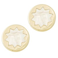 House of Harlow 1960 Jewelry Enameled Sunburst Studs