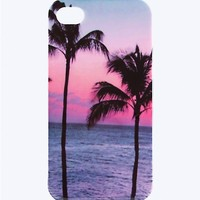 Palmy Skies iPhone 4/4S Case