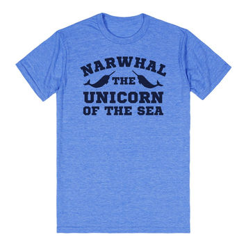 The Unicorn of the Sea Narwhal T-Shirt