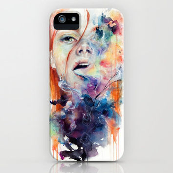 this thing called art is really dangerous iPhone & iPod Case by agnes-cecile