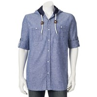 Company 81 Hooded Chambray Shirt