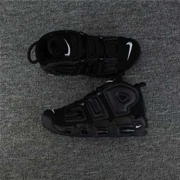 Nike Air More Uptempo x Supreme Black 902290-001 Size 36--46