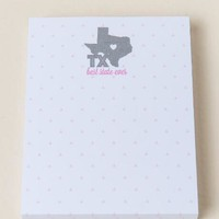 Texas best state ever notepad