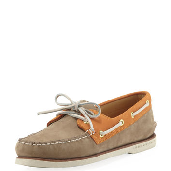 Gold Cup Authentic Original Boat Shoe, Tan/Orange - Sperry Top-Sider