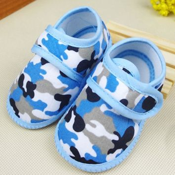 baby shoes girls boys Newborn shoes Camouflage Girl Boy Soft Sole Crib Toddler Shoes Canvas Sneaker #YL
