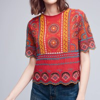 Cropped Mirari Blouse