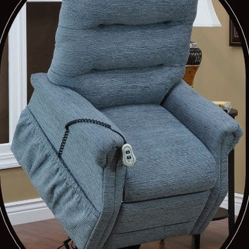 MedLift Power Lift Chair in 3 Way Recline with Durable Vinyl 3053
