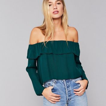 Kennedy Blouse - Emerald | Stone Cold Fox