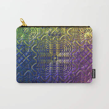 Textured Ombre Carry-All Pouch by Lyle Hatch