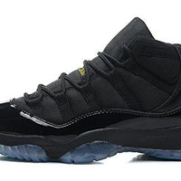 Air JORDAN 11 Retro High-Top Lace-up Leather Athletic Lover Basketball Shoes for Men Women