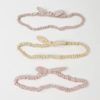 3-pack Cotton Hairbands - from H&M