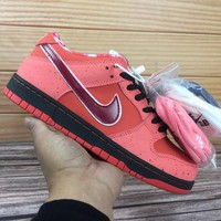 DCCK  Nike SB Dunk Low x Concepts 313170 661 Nike joint red lobster Low top skate man
