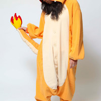 Fire Dragon Kigurumi Onesuit