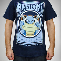 Pokemon Blastoise Water Tee