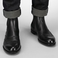 Nero Brunissable Ankle Boot - Men's Bottega Veneta® Boots And Ankle Boots - Shop at the Official Online Store
