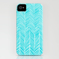 Freeform Arrows in turquoise iPhone Case by Domesticate   Society6