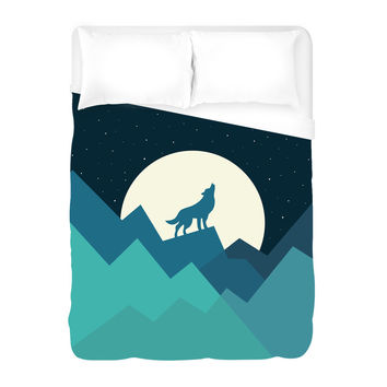 Keep of the Wild in You Duvet Cover