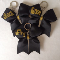 iFly iBack iBase Cheer Bow Keychain (more colors available)