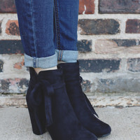 Last Call Booties - Black