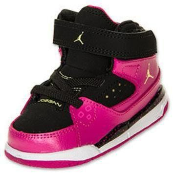 Girls' Toddler Jordan Flight SC 1 Basketball Shoes