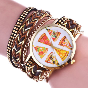 Ladies Watch Pattern Casual Bracelet Watch [11649775759]