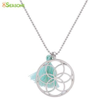 Handmade Seed Of Life Pendants Necklace for Women