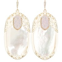 Deva Statement Earrings in Ivory Pearl - Kendra Scott Jewelry