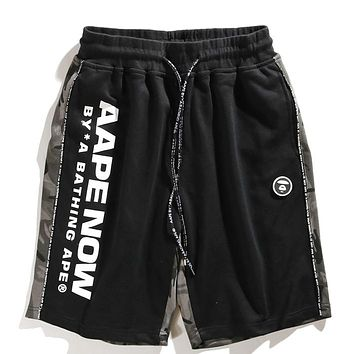 Aape Fashion Casual  Simple Shorts