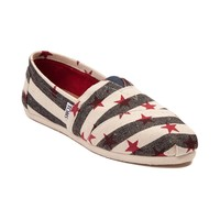 Womens TOMS Classic Stars & Stripes Casual Shoe