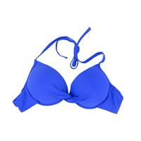 New The original factory cup PUSH UP Underwire women&girl's BIKINI BRA bikini top High Quality